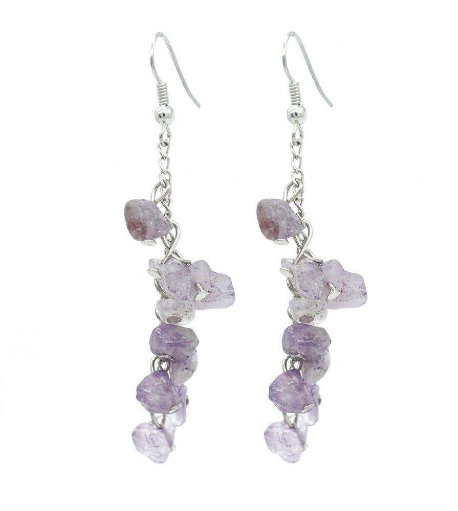 beautiful amethyst earring silver we sterling jewelry wholesale stone earrings